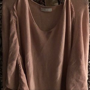 Over size knit sweater!